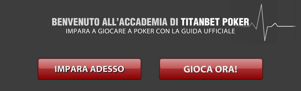 scuola di poker titanbet