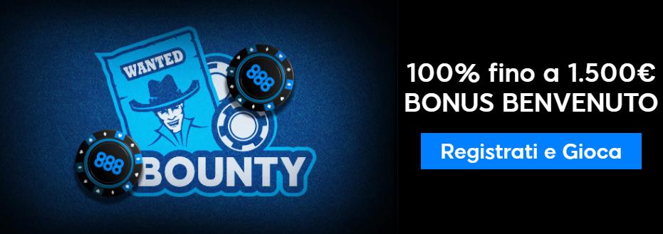 tornei bounty 888