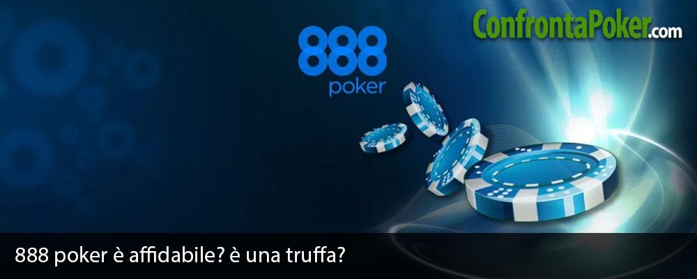 888 poker è affidabile? è una truffa?