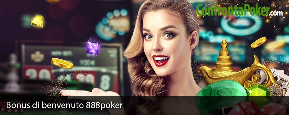 Bonus di benvenuto 888poker