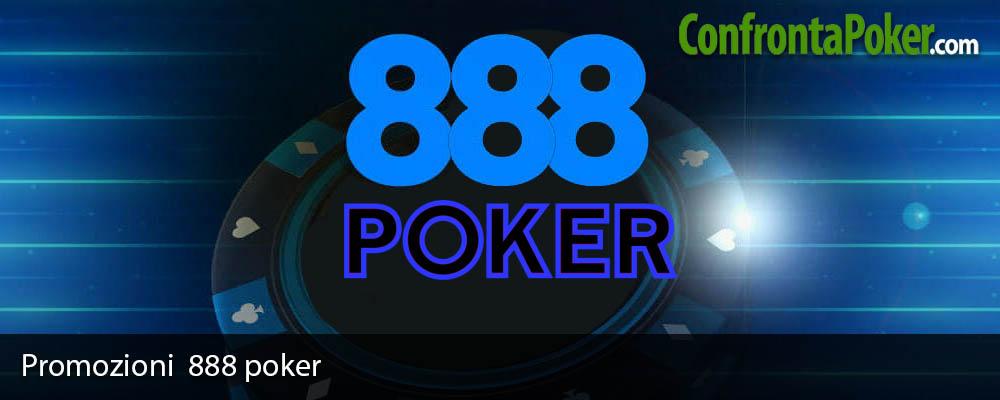 Promozioni 888 poker