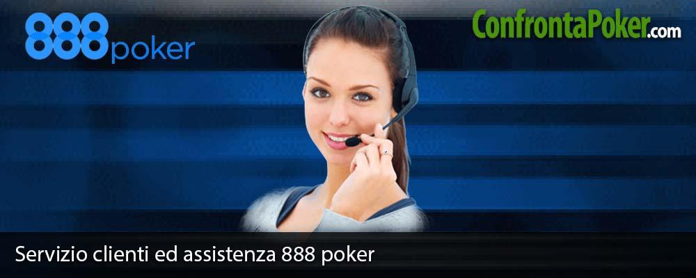 Servizio clienti ed assistenza 888 poker