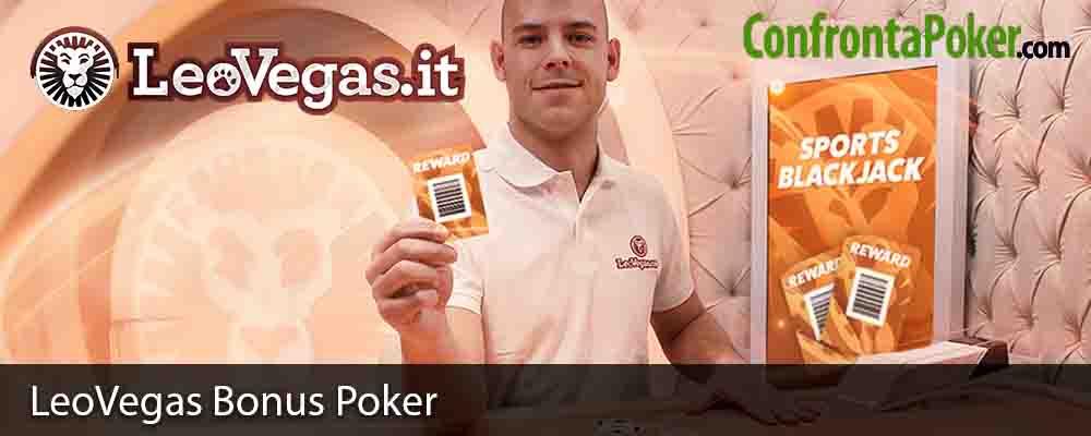 LeoVegas Bonus Poker