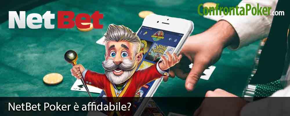 NetBet Poker è affidabile?