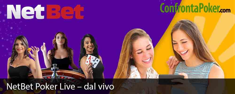 NetBet Poker Live – dal vivo
