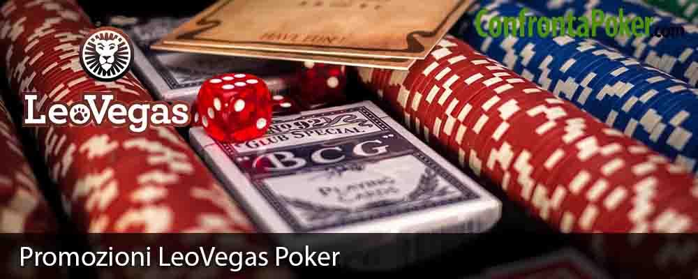 Promozioni LeoVegas Poker