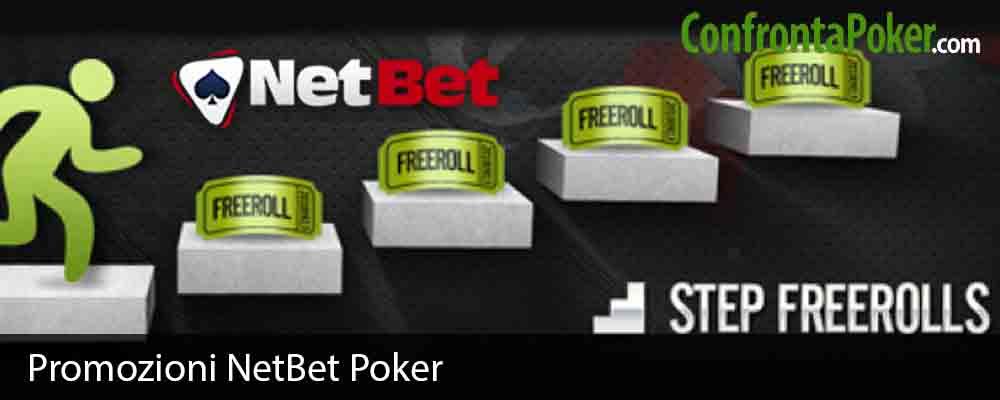 Promozioni NetBet Poker