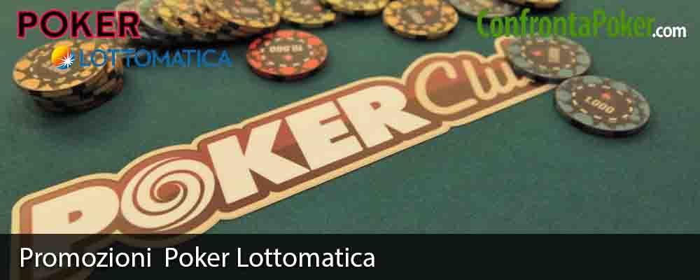 Promozioni Poker Lottomatica