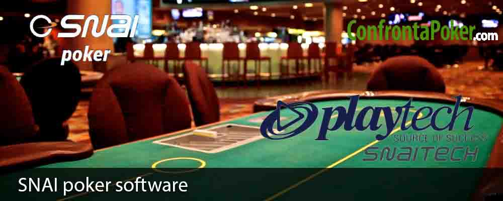 SNAI poker software