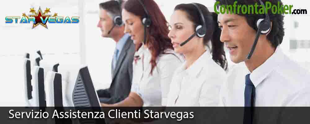 Servizio Assistenza Clienti Starvegas