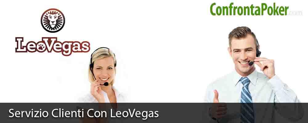 Servizio Clienti Con LeoVegas