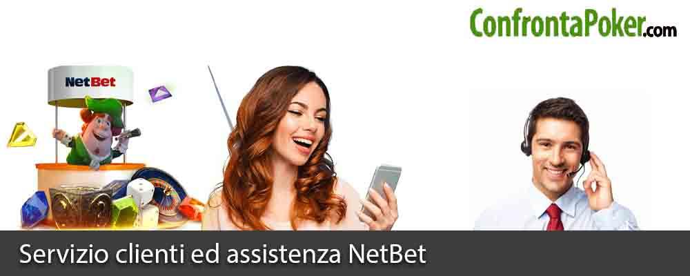 Servizio clienti ed assistenza NetBet