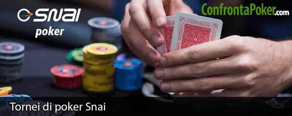 Tornei di poker Snai