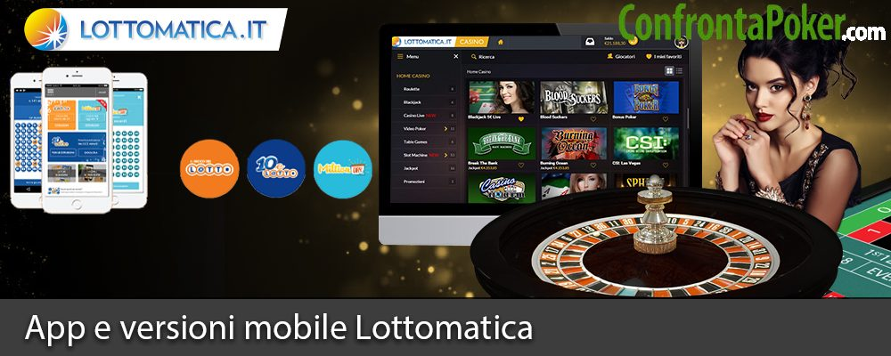 App e versioni mobile Lottomatica