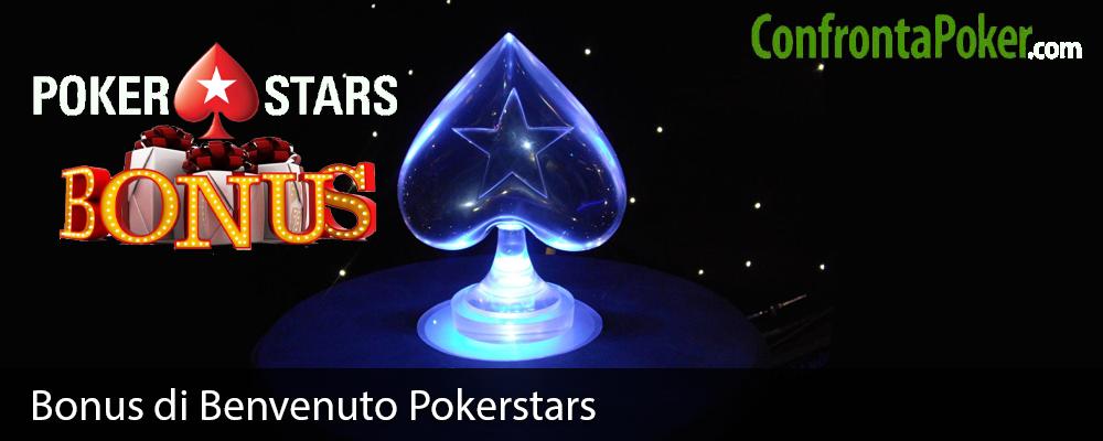 Bonus di Benvenuto Pokerstars