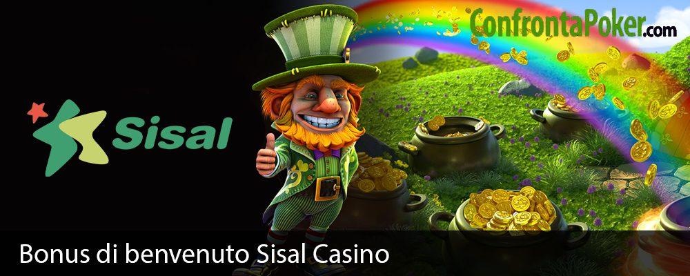 Bonus di benvenuto Sisal Casino