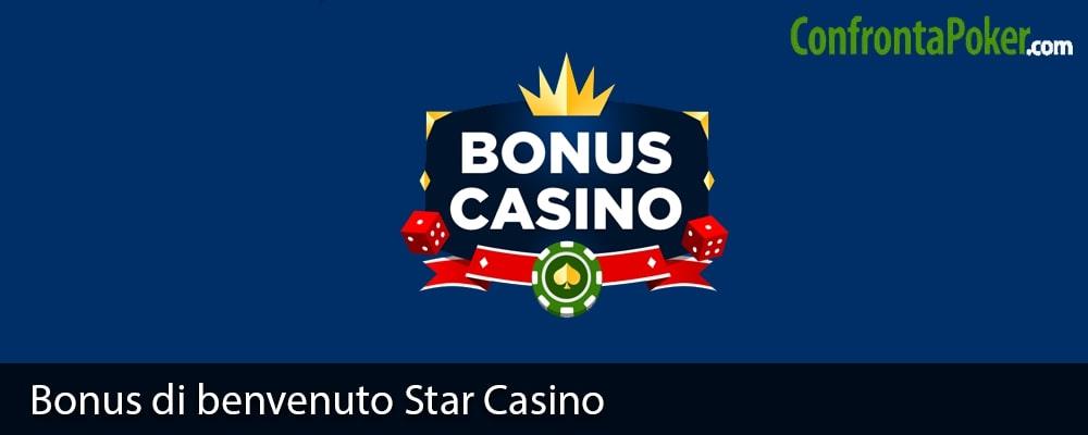 Bonus di benvenuto Star Casino