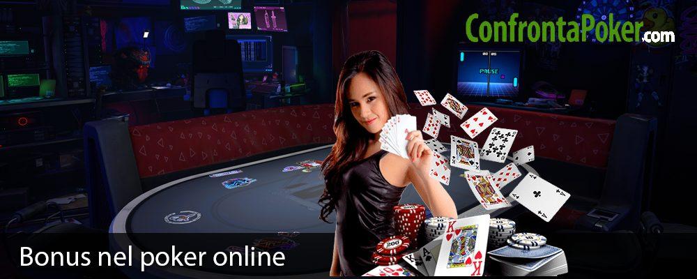 Bonus nel poker online