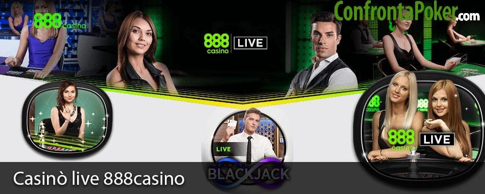 Casinò live 888casino