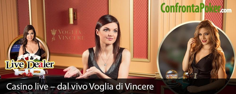 Casino live – dal vivo Voglia di Vincere