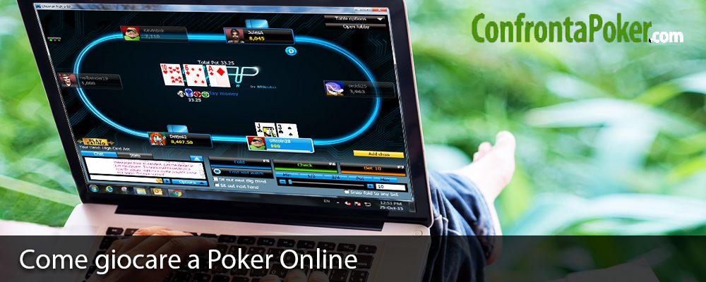 Come giocare a Poker Online