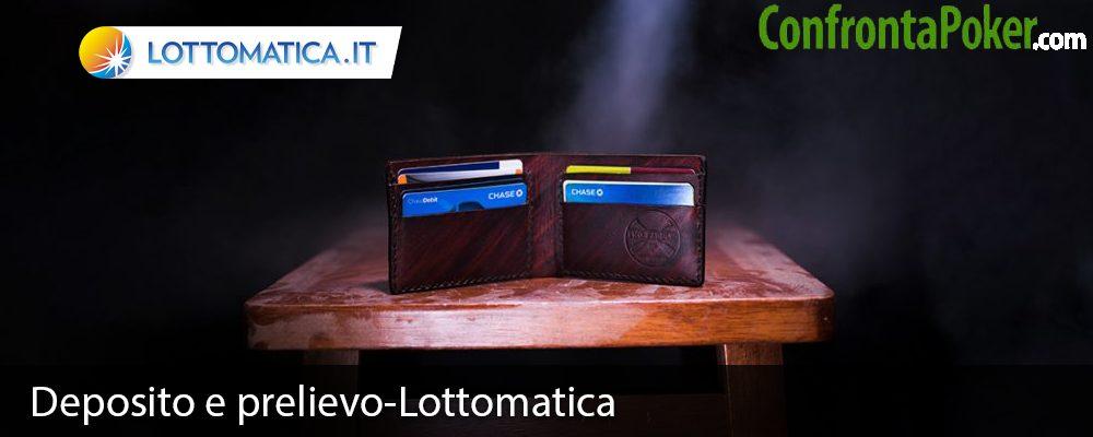 Deposito e prelievo-Lottomatica