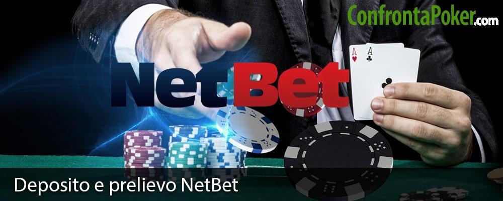 Deposito e prelievo NetBet