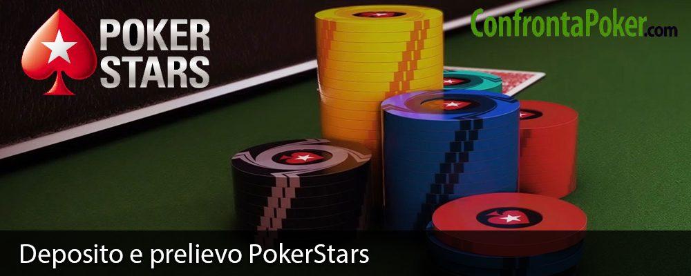 Deposito e prelievo PokerStars