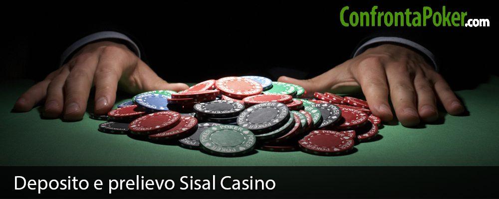 Deposito e prelievo Sisal Casino