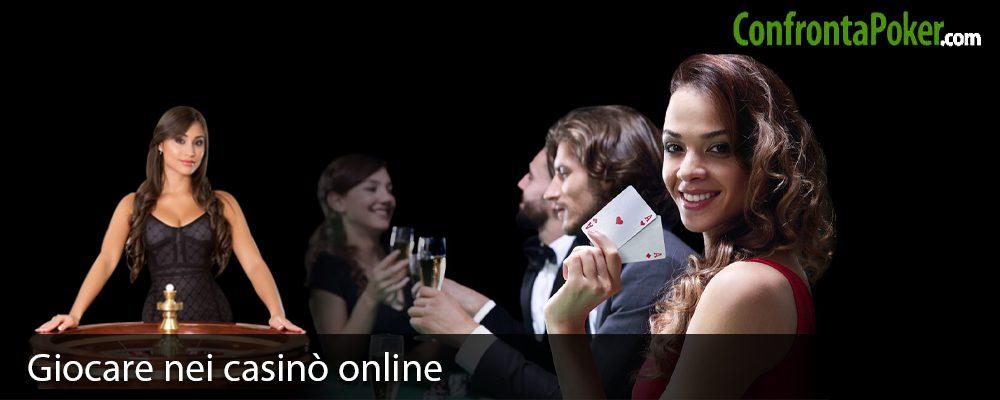 Giocare nei casinò online
