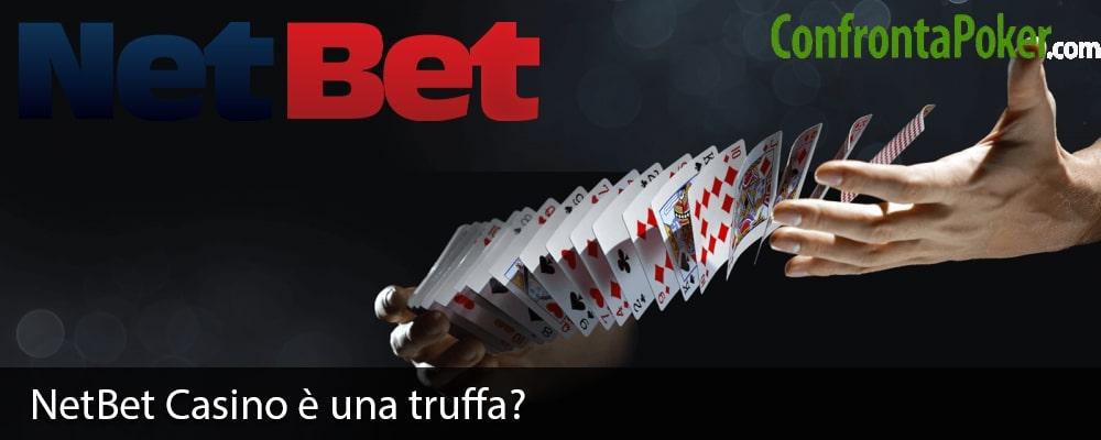 NetBet Casino è una truffa