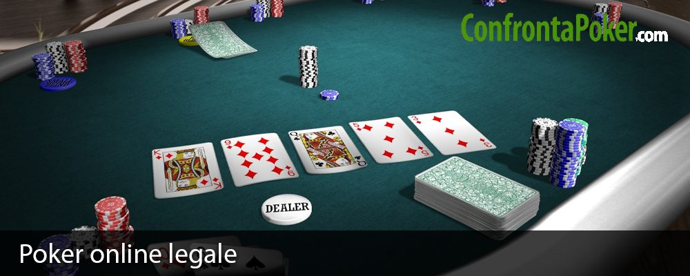 Poker online legale