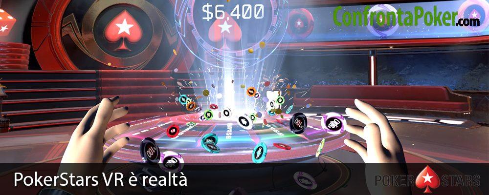 PokerStars VR è realtà