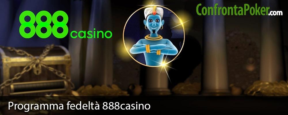 Programma fedeltà 888casino
