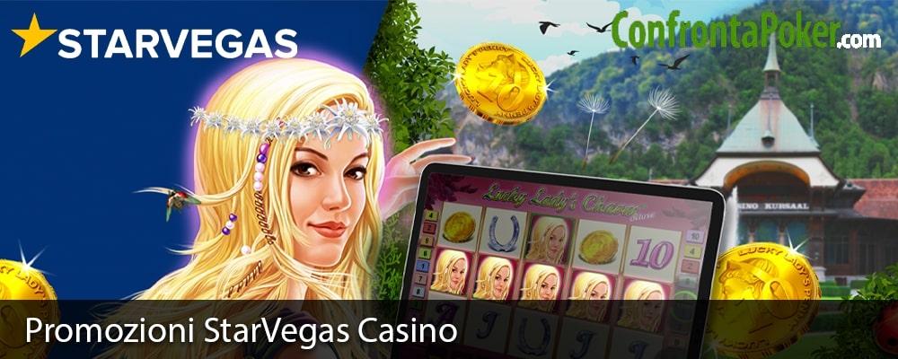 Promozioni StarVegas Casino