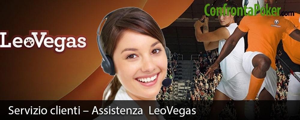 Servizio clienti – Assistenza LeoVegas