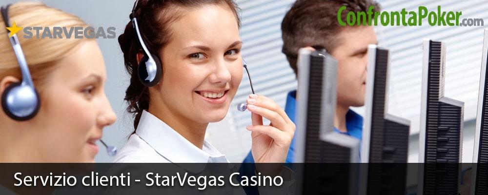 Servizio clienti - StarVegas Casino