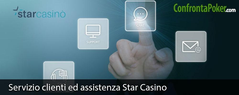 Servizio clienti ed assistenza Star Casino