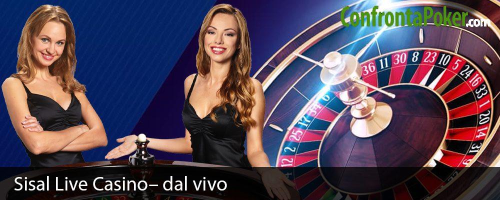Sisal Live Casino– dal vivo