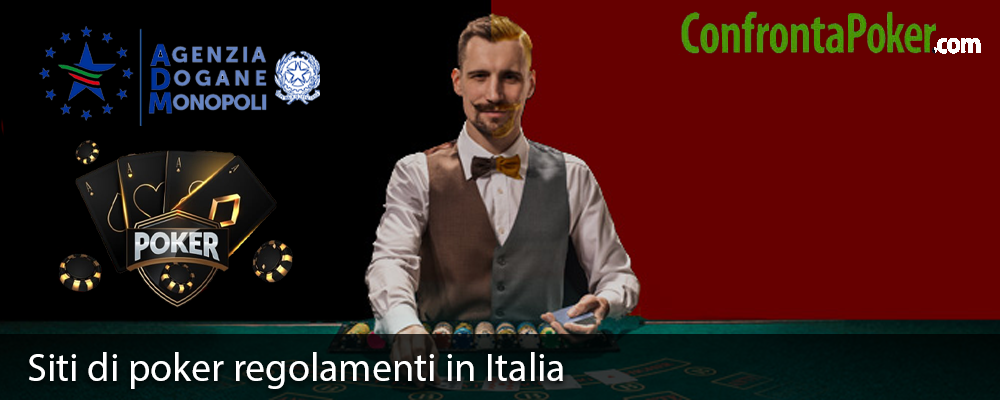 Siti di poker regolamenti in Italia