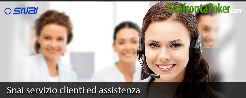 Snai servizio clienti ed assistenza