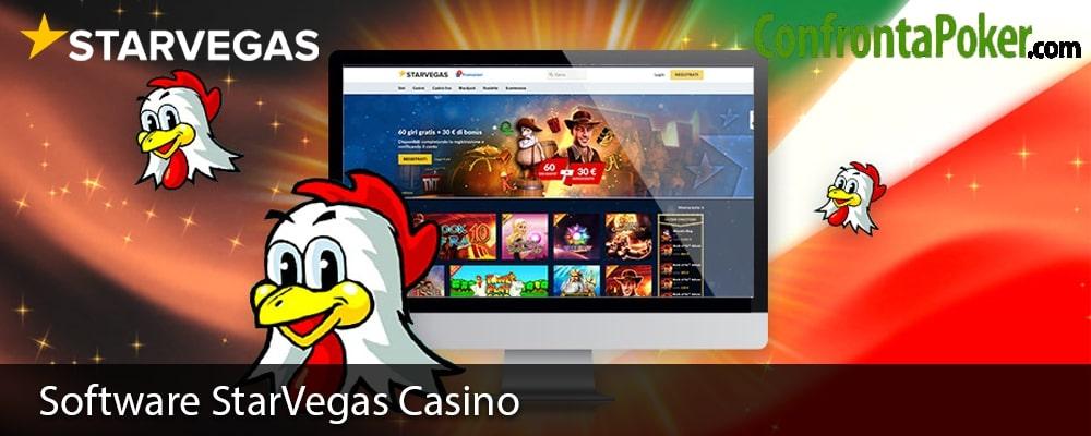 Software StarVegas Casino