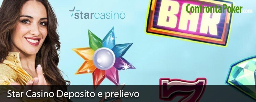 Star Casino Deposito e prelievo