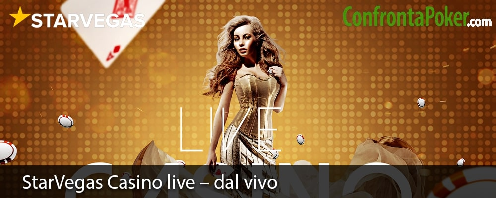 StarVegas Casino live – dal vivo